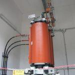 Suhi energetski transformator, priklop z zbiralkami