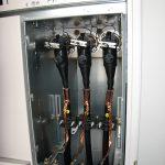 Industrijska transformatorska postaja, SN kabelski priključek