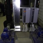 Napajanje črpalk, frekvenčni regulator