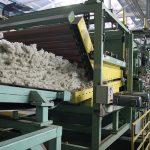 Stroj za izdelavo kamene volne, predelava rudnin