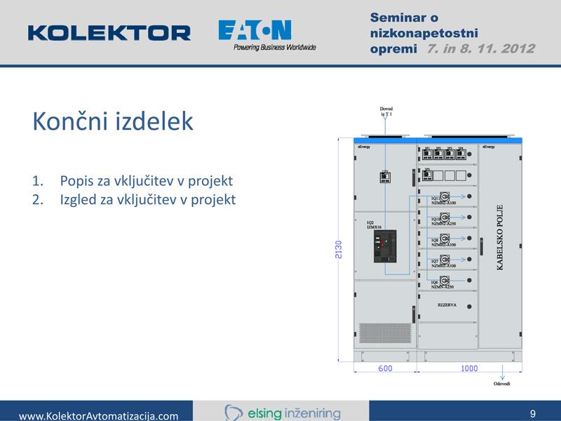 Seminar Nizkonapetostna stikalna oprema in naprave EATON seminar stikalna tehnika b