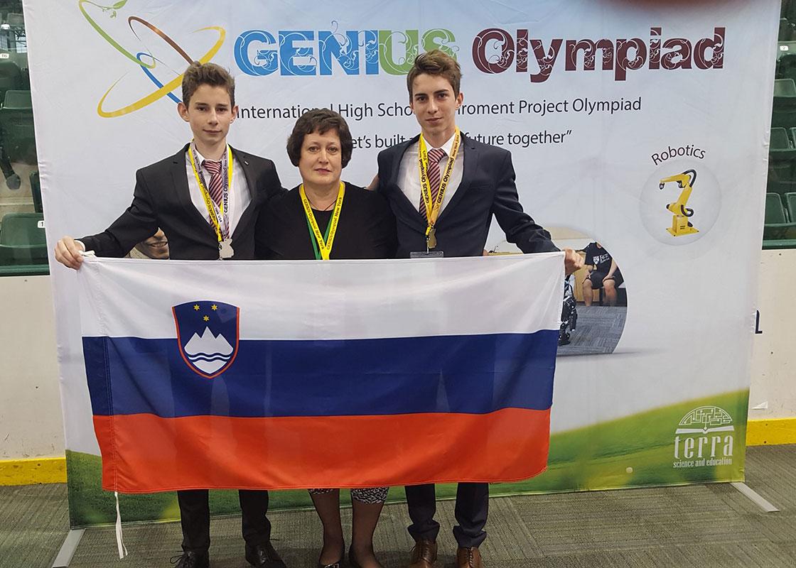 Izjemen uspeh Tadeja Straha na Genius Olympiadi v ZDA tadej strah